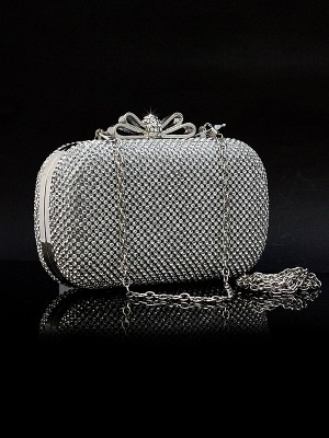 Stylish Rhinestones Evening Handbags